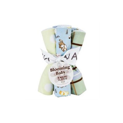 Trend Lab Baby Barnyard 5-pack Wash Cloth Set Kid's