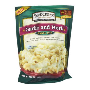 Bear Creek Country Kitchens Garlic and Herb Pasta Mix
