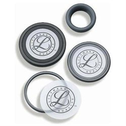 Mabis 13-554-030 Littmann Master Cardiology Tunable Diaphragm and Rim Assembly - Gray