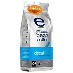 Ethical Bean Coffee - Organic Dark Roast Whole Bean Decaf - 12 oz.