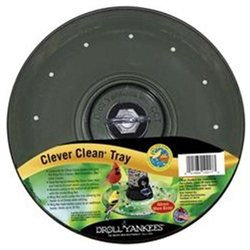 Droll Yankees Clever Clean Seed Tray - Smoke Color