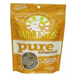 Wellpet Llc Wellpet OM89051 86 oz Wellness Pure Rewards Venison and Salmon Food