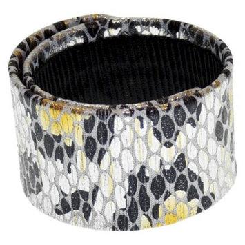 RIVIERA, A STYLEMARK CO Women's Riviera Slap Wrap Bun Holder - Gold/Black