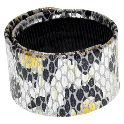 RIVIERA, A STYLEMARK CO Women's Riviera Slap Wrap Bun Holder - Gold/Black