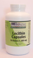 Lecithin 19 Grain No Chinese Ingredients American Supplements 250 Softgel