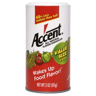 Accent Ac'cent All-Natural Flavor Enhancer