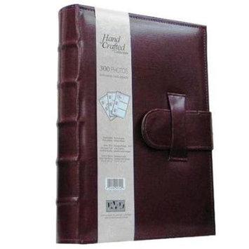 Kleer Vu Kleer-Vu Photo / Memo Album, Leatherette Capri Collection, Burgundy, Holds 300 4x6