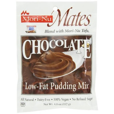 Mori Nu Morinu Mates Pudding Mix, Chocolate, 4.0-Ounce Packages (Pack of 12)