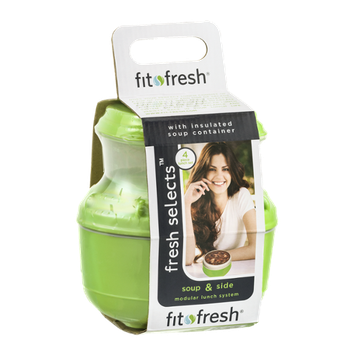 Fit Fresh Fresh Selects Soup & Side Modular Lunch System - 4 Piece