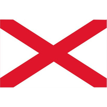 Annin Alabama State Flag - 4' x 6'