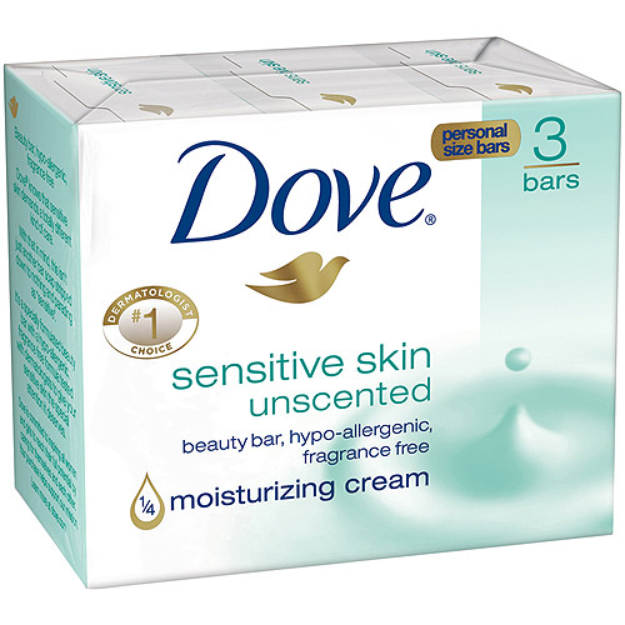 Dove Bar Soap - Sensitive Skin Unscented