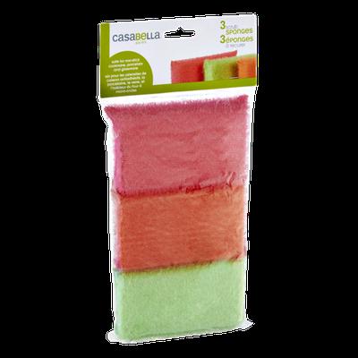 Casabella Shiny Scrub Sponges- 3 CT