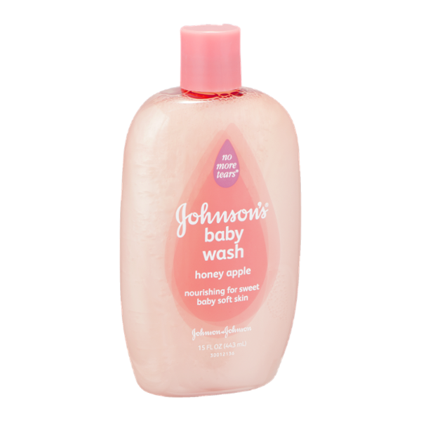 Johnson's No More Tears Baby Wash Honey Apple