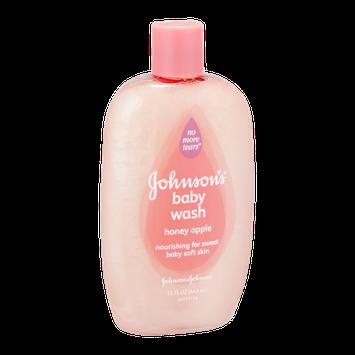 Johnson's No More Tears Baby Wash Honey Apple