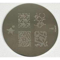Konad Stamping Nail Art Image Plate - M85