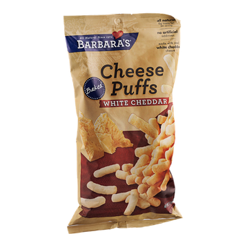 Barbara's Cheese Puffs White Cheddar