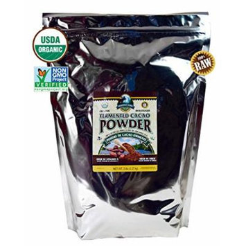 Wilderness Family Naturals Cacao Powder 5 Pounds - Certified Organic, Non-Gmo Verified, Raw