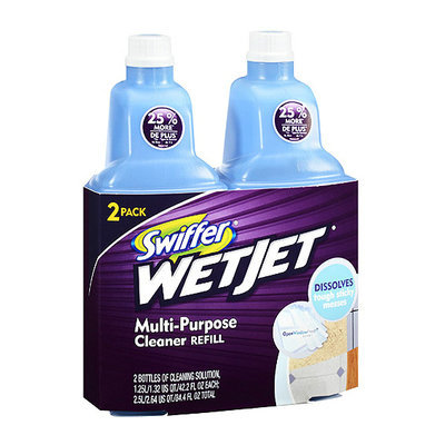 Swiffer 2 WetJet Multi-Purpose Cleaner Refills