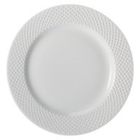 Threshold All Over Bead Dinner Plate Set of 4 - White