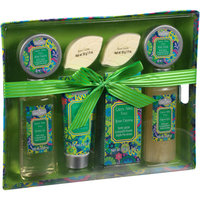 Aromanice Green Apple Sage Bath Gift Set, 8 pc
