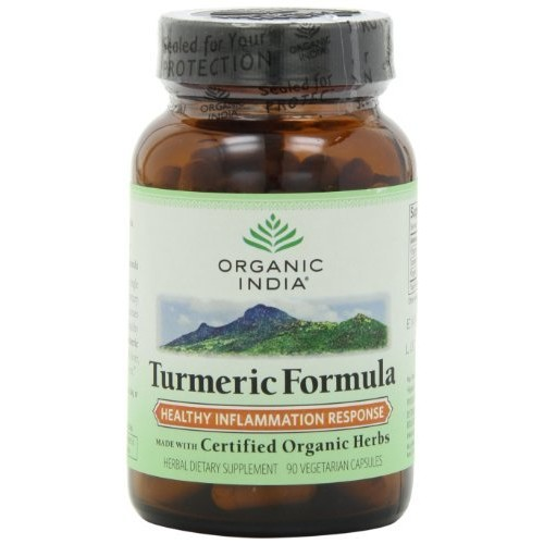 Organic India Turmeric, 90-Count