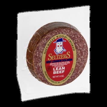 Seltzer's Beef Lebanon Bologna Lean Beef