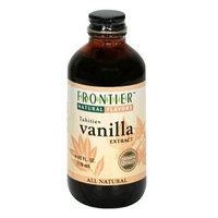 Frontier Natural Products Co-op Vanilla Extract, 4-Ounce Bottle (Pack of 3)