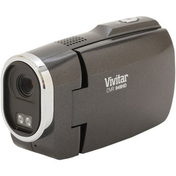Vivitar Black DVR949-BLACK Full HD Digital Camcorder, 2.7
