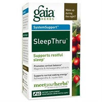 Gaia Herbs SystemSupport SleepThru - 30 Vegetarian Liquid Phyto-Caps