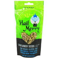 Hail Merry Snacks Snflwr Seeds, Slt N Pepper, 4-Ounce (Pack of 8)