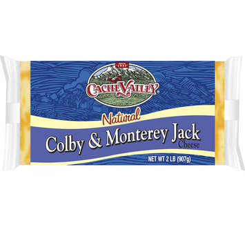 Cache Valley Natural Colby & Monterey Jack Cheese, 2 lbs