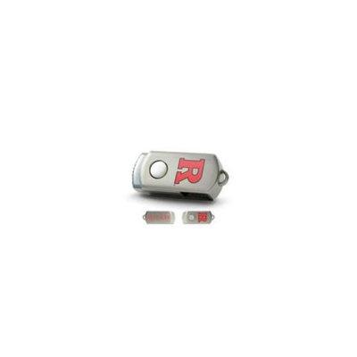 CENTON Centon Electronics DSTC8GB-CRUT Rutgers University Custom Logo USB Drive DataStick Twist 8GB 8GB Silver