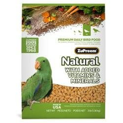 Zupreem 680004 Zupreem Natural Medium-Large - 3 Pound