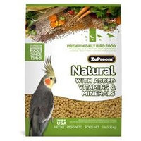 ZuPreem AvianMaintenance Natural Bird Diet for Cockatiels, 2.5 lbs.