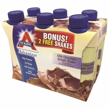 Atkins Advantage Milk Chocolate Delight Shakes