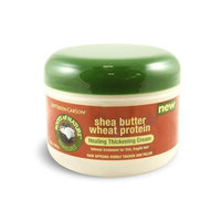 Roots Of Nature Healing Thickening Cream With Wheat Protein and Shea Butter, 6 oz