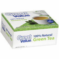 Great Value Green Tea Tea Bags