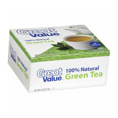 Great Value Green Tea Tea Bags