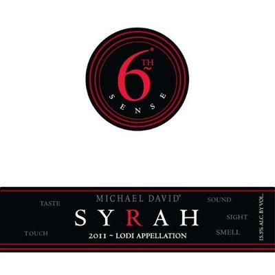 2011 Michael David 6th Sense Lodi Syrah 750ml