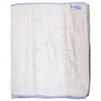 Dandelion Diapers 100% Organic Cotton Prefold Diapers - 1 Half Dozen - Size 5 - 15.5 x 18