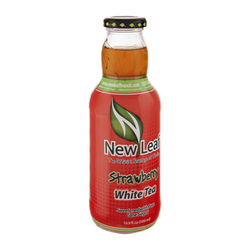 New Leaf Strawberry White Tea