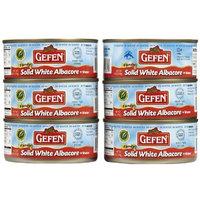 Gefen Tuna Solid White In Water, 6 oz. (Pack of 48)