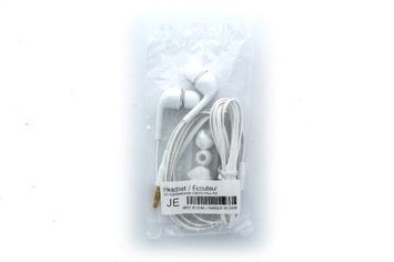 OEM Universal 3.5mm Stereo Headset for Samsung Galaxy S4 i9500 (White)