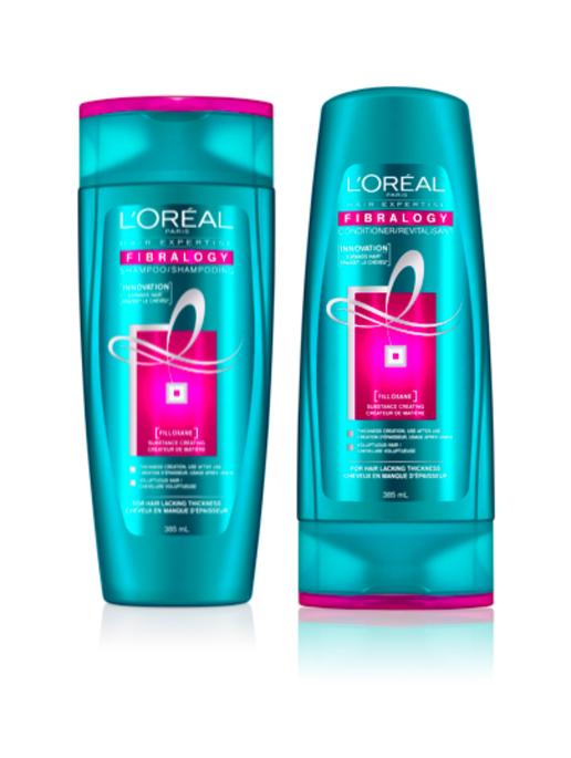 L'Oreal Paris Fibralogy Shampoo and Conditioner