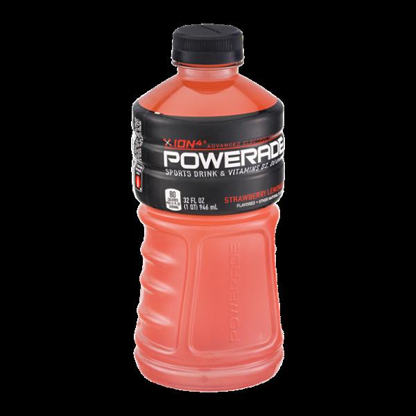Powerade Ion4 Strawberry Lemonade