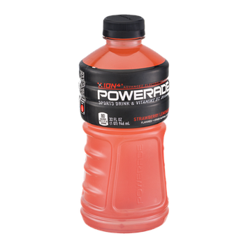 Powerade Ion4 Strawberry Lemonade