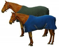 Centaur Climate Control Cooler Sheet - Size: Large Horse Color: Dark Grey