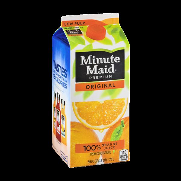 Minute Maid Premium 100% Orange Juice Original