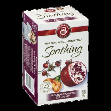 Teekanne Herbal Wellness Tea Soothing Pomegranate Delight - 20 CT