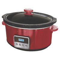 Sensio Bella 5 Qt Slow Cooker - Red